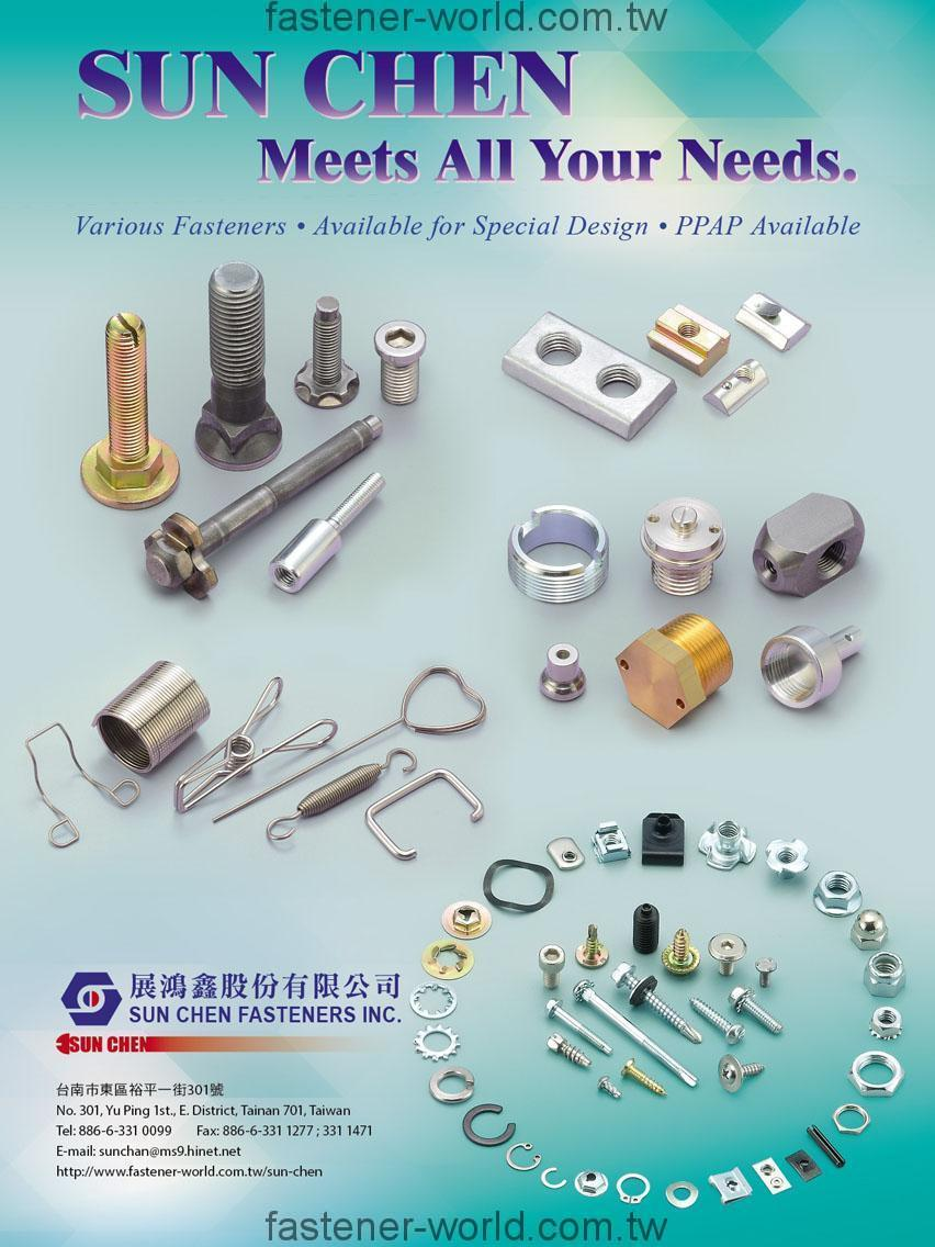 SUN CHEN FASTENERS INC.,_Online Catalogues
