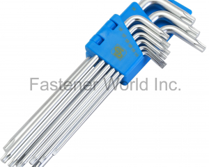 TORX HEX KEY WRENCH WITH EXTRA LONG ARM(SHUN DEN IRON WORKS CO., LTD. )