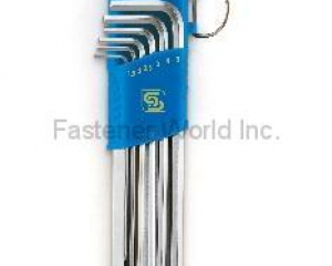 HEX WRENCHES-EXTRA LONG ARM WITH BALL-END(SHUN DEN IRON WORKS CO., LTD. )